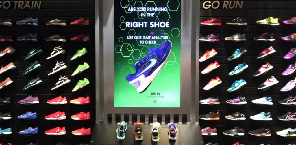 Nike and Perch Omnichannel Retail Experience