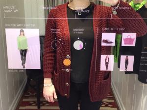 ai smart mirror for fashion retail
